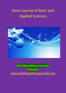 Asian Journal of Basic and Applied Sciences