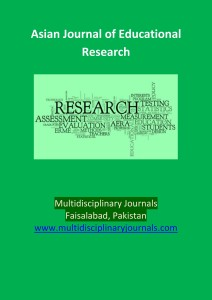 Asian Journal of Educational Research